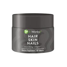 hair skina nail
